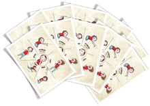Load image into Gallery viewer, 10-Pack - 'Instinctive Defenses' Postcards for Clients (10 for $15.00)