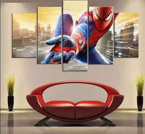 RUEDESTABLEAUX.COM Tableau Marvel Dc Comics 20x35 20x45 20x55cm / Sans Châssis Tableau Marvel Dc Comics Spiderman Movie toile peinture decoration  art moderne  popart