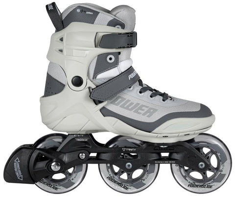POWERSLIDE Krypton Phuzion grey 100mm Inline Skate
