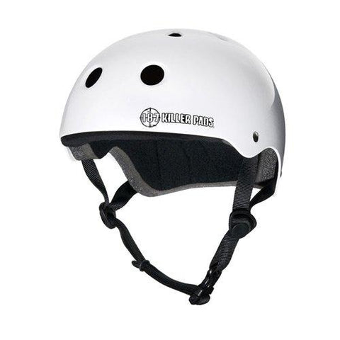 Killer 187 White Gloss - Pro Helmet