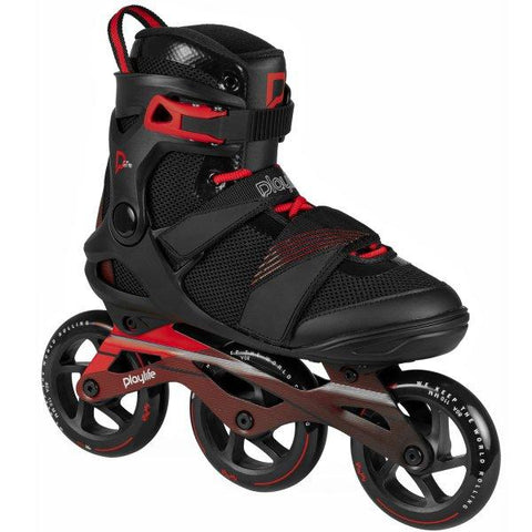 Playlife GT Black 110mm Three Wheel Skate