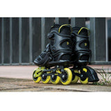 Playlife Lancer Black 84 Mens Roller Blade - Powerslide