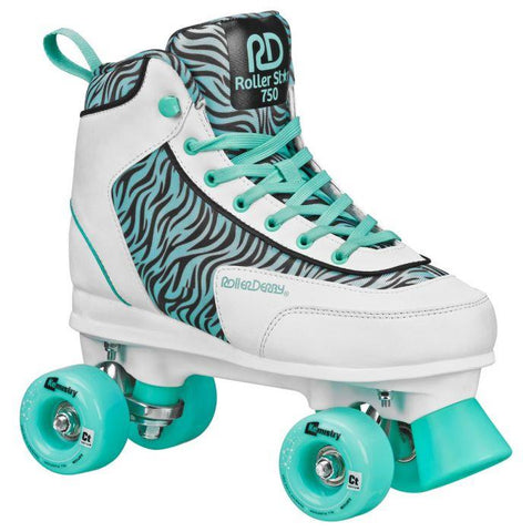 Roller Derby Roller STAR 750 Sea Foam Zebra Quads