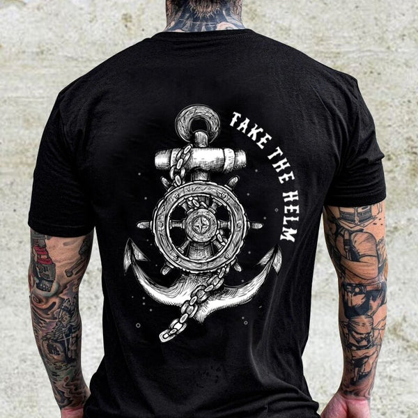 Anchor Printed Short Sleeve T-shirt