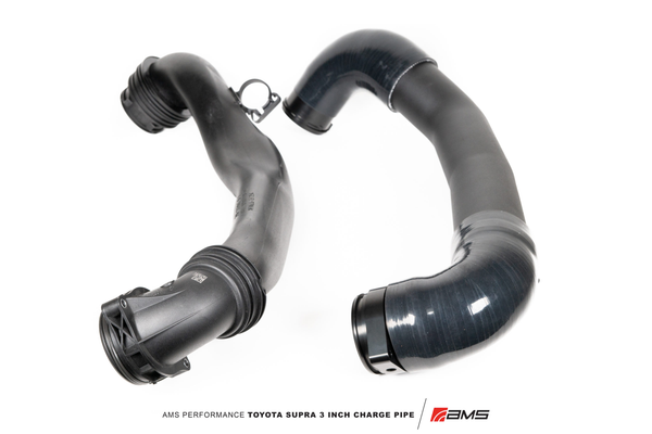 "AMS Performance 2020+ Toyota Supra A90 Aluminum 3"" Charge Pipe Kit"