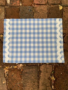 Blue Gingham Placemats