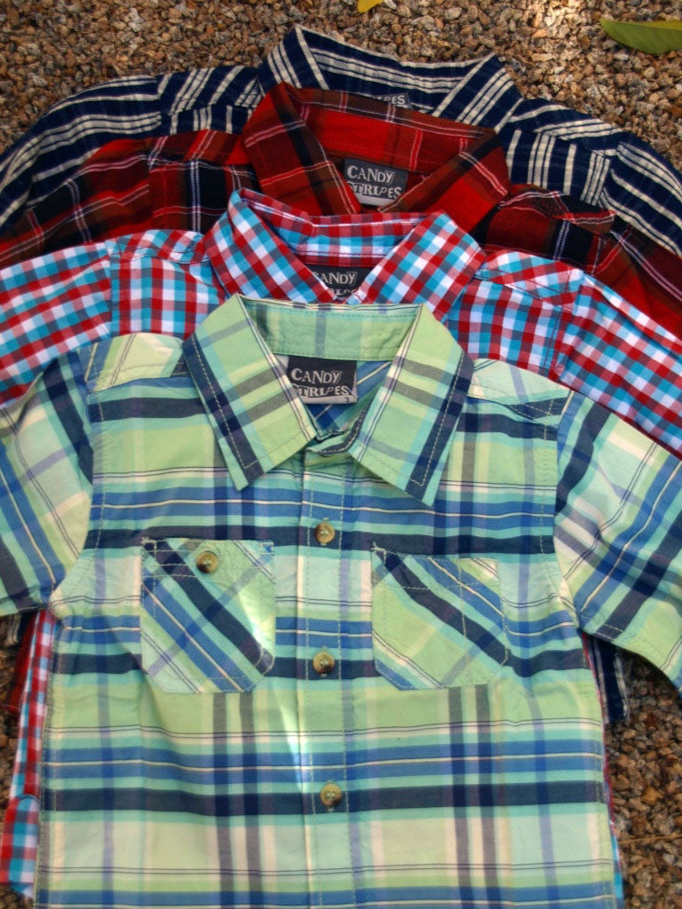 Children's Check shirts