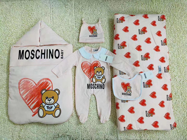 COTTON 100% BABYGROW GIFT SET (5 PIECE)
