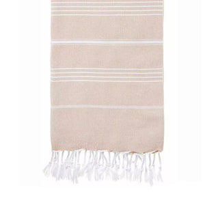 Hammama Said There'd Be Days Like This <3 XL Turkish Bath & Beach Towel / Yoga Mat (Authentic Peshtemal)