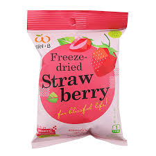 Strawberry Me In Your Arms: Wel-B Premium Freeze-dried Strawberries (GF, Vegan)