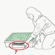 Load image into Gallery viewer, Newsorb Pee Sponge Powder for Portable Dog Potty Pee Tray