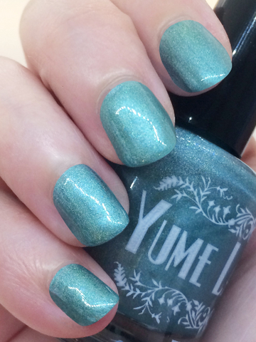 Gasp! The Enemy! - Fuuka Yamagishi Persona 3 Inspired Indie Nail Polish