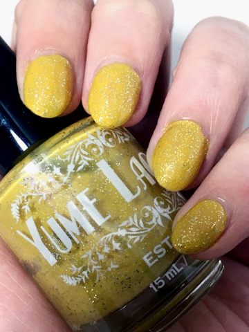 Foreign Gold - Lisa Silverman Persona 2 Inspired Indie Nail Polish