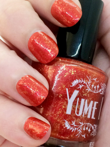 Fan The Flames - Yukiko Amagi Persona 4 Inspired Indie Nail Polish