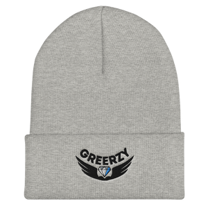 GREERZY Cuffed Beanie in White, Black, Navy, Green, Grey or Red