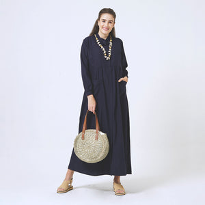 ADITY - nursing maxi dress