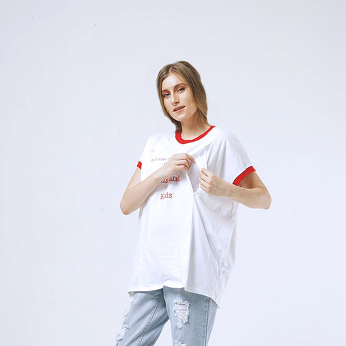 Load image into Gallery viewer, GAIA - nursing shirt