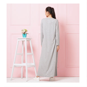 HELEN - nursing maxi dress