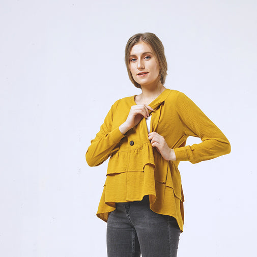 Load image into Gallery viewer, LYDIA - nursing blouse