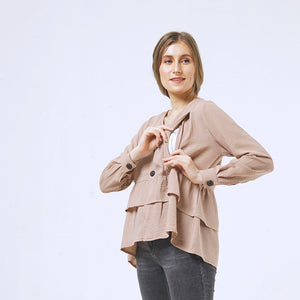 LYDIA - nursing blouse