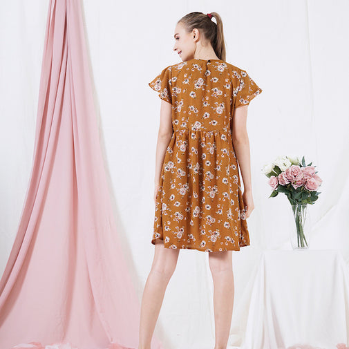 Load image into Gallery viewer, QAALEY - nursing dress