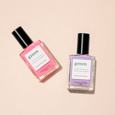 Green Duo set - Lisa Lilas & Pink Paradise