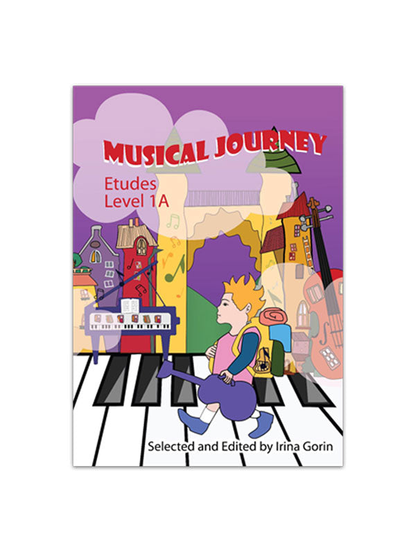 Musical Journey: Etudes Level 1A - Caydence Music Books