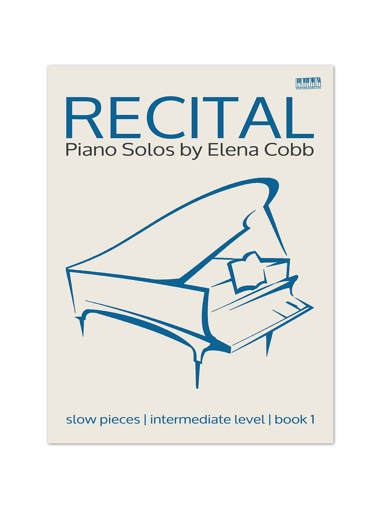 Recital Piano Solos Book 1 by Elena Cobb - Caydence Music Books