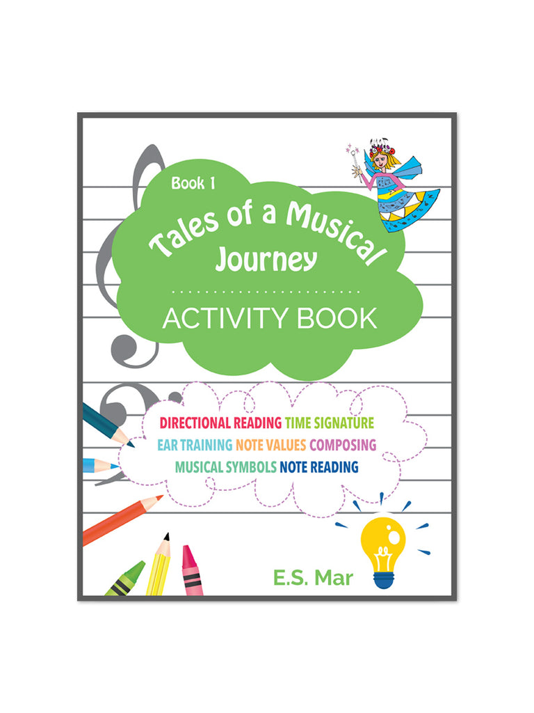 Tales of a Musical Journey: Activity Book 1 - Caydence Music Books