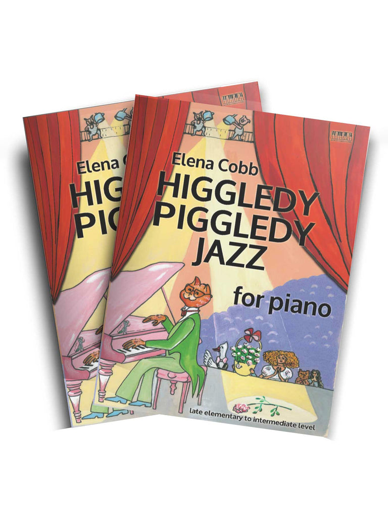 Higgledy Piggledy Jazz for Piano by Elena Cobb - Caydence Music Books