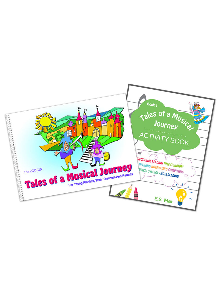 Tales of a Musical Journey Book 1 + Activity Book Bundle - Caydence Music Books