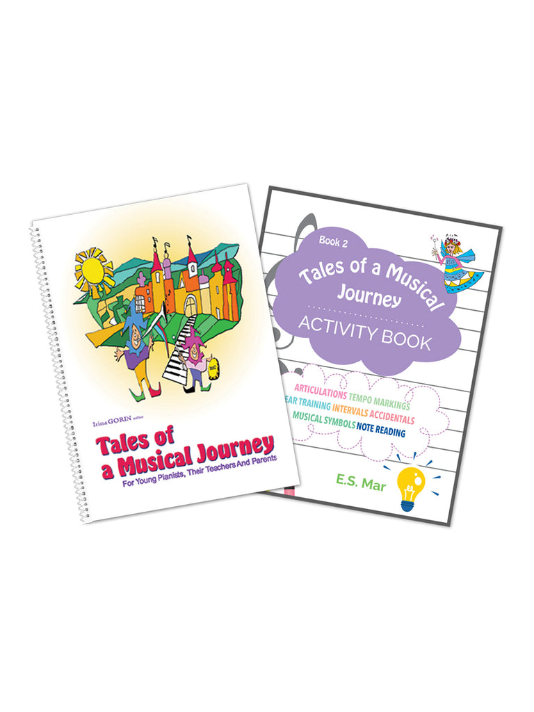 Tales of a Musical Journey Book 2 + Activity Book Bundle - Caydence Music Books