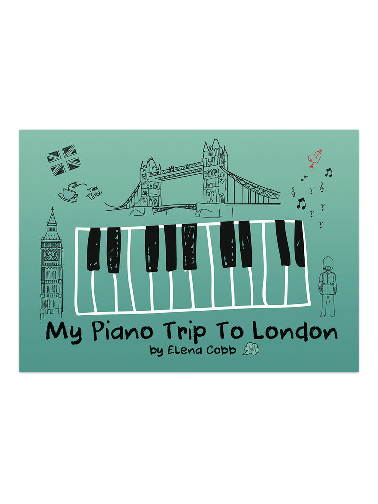 My Piano Trip to London Piano Duets Book 1 by Elena Cobb - Caydence Music Books