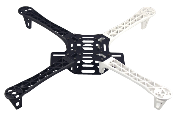 R450 Glass Fiber Quadcopter Frame 450mm - Black/White v1