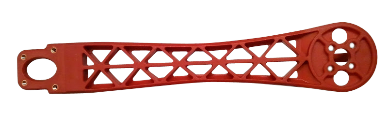 R450 Frame Arm Replacement - Red