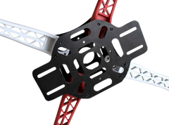 R450 Glass Fiber Quadcopter Frame 450mm - Red/White v1