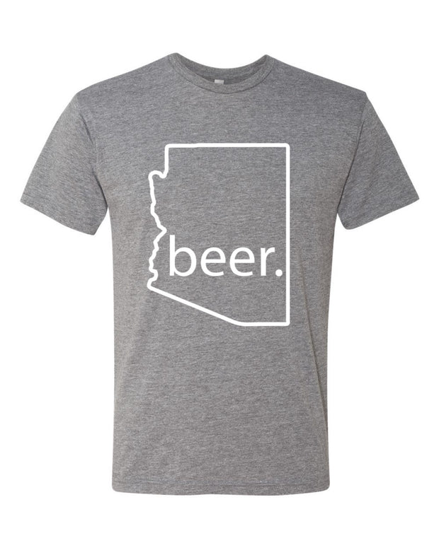 Southwest Beer Gear - Arizona - Men's Tri-Blend Crew Tee