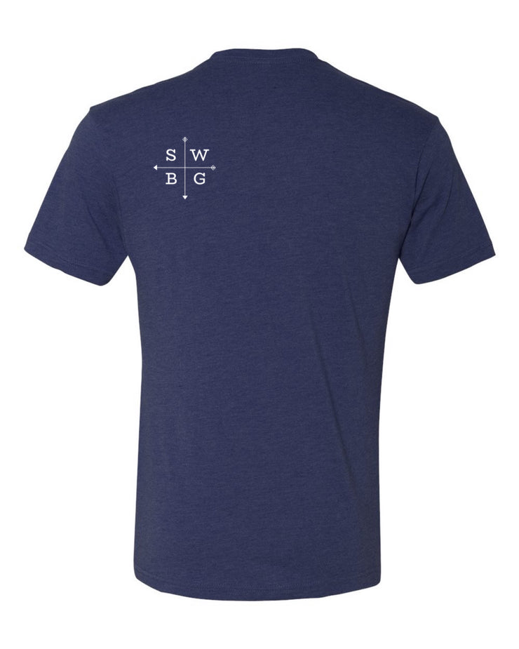 Southwest Beer Gear - California - Men's Tri-Blend Crew Tee