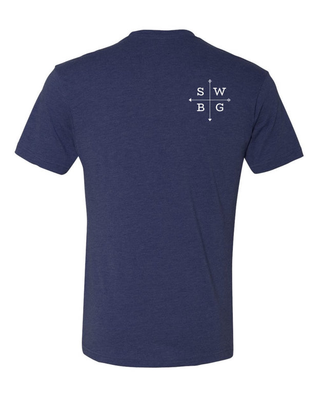Southwest Beer Gear - Oklahoma - Men's Tri-Blend Crew Tee