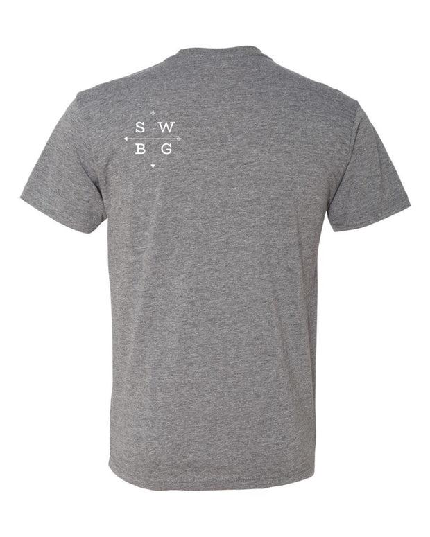 Southwest Beer Gear - New Mexico - Men's Tri-Blend Crew Tee
