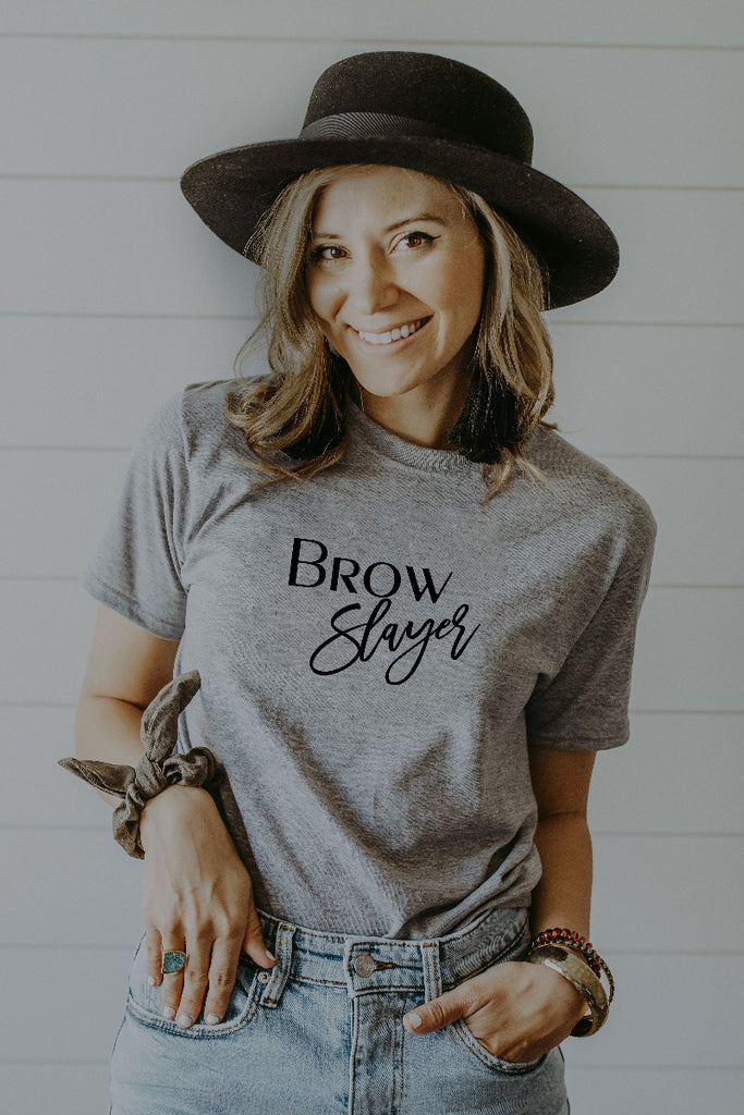 Women's Grey Brow Slayer Shirt