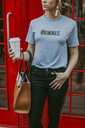 Women's Grey Browoholic Shirt