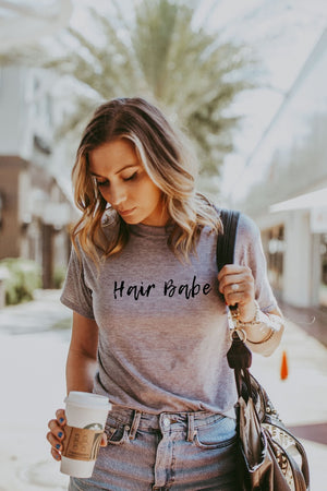 Women's Grey Hair Babe Shirt