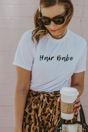 Women's White Hair Babe Shirt