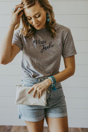 Women's Grey Hair Junkie Shirt