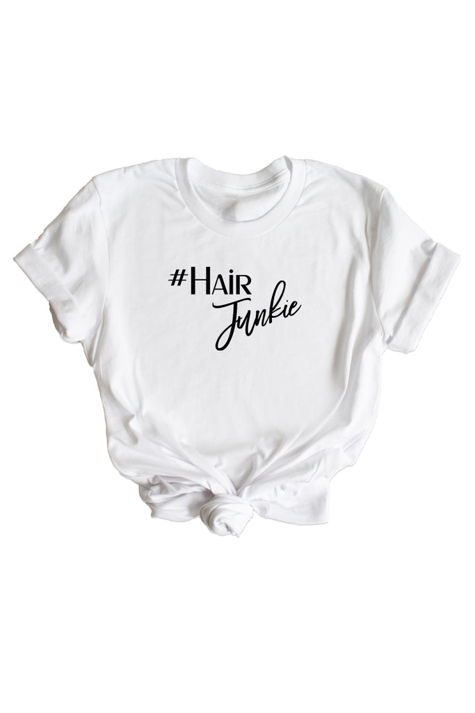 Women's White Hair Junkie Shirt