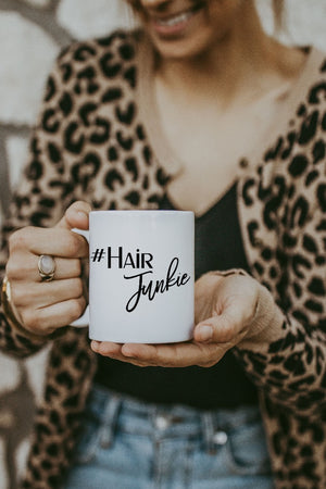 White Hair Junkie Mug