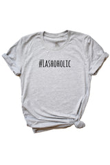 Women's Grey Lashoholic Shirt