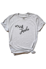 Women's Grey Nail Junkie Shirt