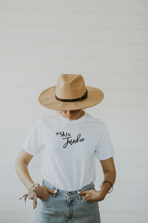 Women's White Skin Junkie Shirt